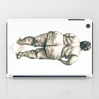 Woman in Shower iPad Case
