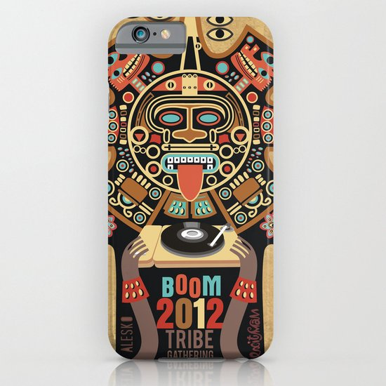 Mayas Spirit - Boom 2012 iPhone & iPod Case