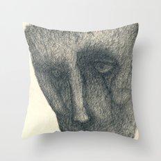 The sad Throw Pillow