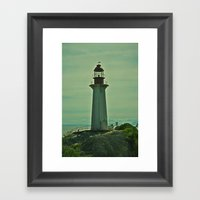 Beacon Of Hope Framed Art Print
