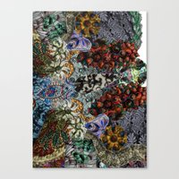 Psychedelic Botanical 15 Canvas Print
