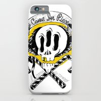 iPhone & iPod Case featuring I COME IN PIECE by thanathan