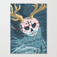 Gods And Monsters #9 - T… Canvas Print