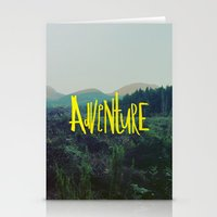 adventure Stationery Cards featuring Adventure by Leah Flores
