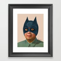 Bad Mao Framed Art Print