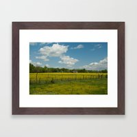 Country Time Framed Art Print