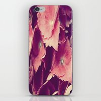 purple flowers iPhone & iPod Skin