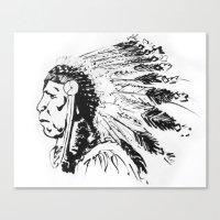 LANGUNDO Canvas Print