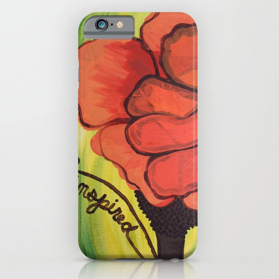 """be inspired"" iPhone & iPod Case"