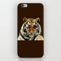 In the Eye of the Tiger iPhone & iPod Skin