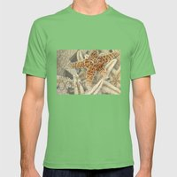 Living in the Ocean Mens Fitted Tee Grass SMALL