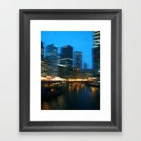 CityCity Framed Art Print