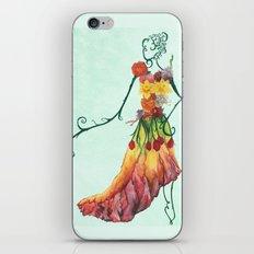 Female Floral iPhone & iPod Skin