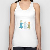 Do You Want To Build A Snowman? Unisex Tank Top