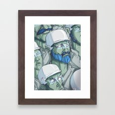 EXPLORERS Framed Art Print
