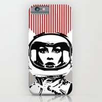 iPhone & iPod Case featuring spacewoman by Ela Caglar