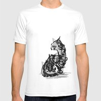 Mousey Mousey Mens Fitted Tee White SMALL