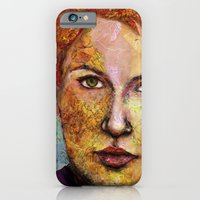 Map Self Portrait iPhone 6 Slim Case