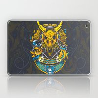 Golden Tricerapod Laptop & iPad Skin