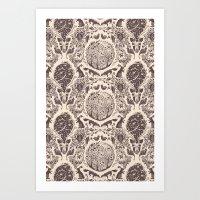 Forest Pattern Art Print