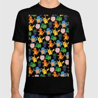 Gotta Catch 'Em All Mens Fitted Tee Black SMALL