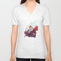 Ocean Jewel Unisex V-Neck