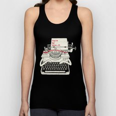 You're my type Unisex Tank Top