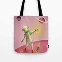 Cosmic balance Tote Bag