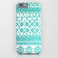 AQUAMARINE TRIBAL  iPhone 6 Slim Case