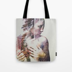 Wilderness Heart #3 Tote Bag