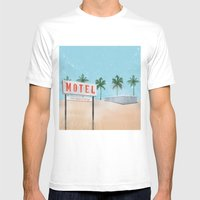 Vacancy Mens Fitted Tee White SMALL