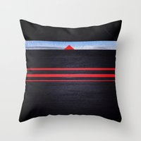 The Light Of The Triangl… Throw Pillow