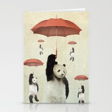 Pandachutes Stationery Cards