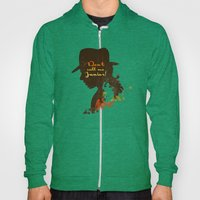 Don't call me Junior! – Indiana Jones Silhouette Quote Hoody
