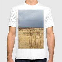 Horsetooth Hills Mens Fitted Tee White SMALL
