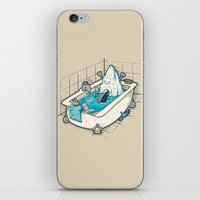 BATH TIME iPhone & iPod Skin