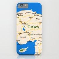 Turkey Map Design iPhone 6 Slim Case