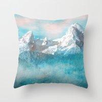 MOUNTAIN SCAPES   Watzmann Throw Pillow