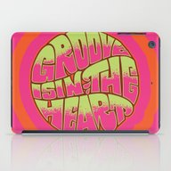 iPad Case featuring Groove Is In The Heart by Roberlan Borges