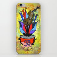 BLOOMING YOGA iPhone & iPod Skin