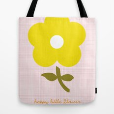 Happy little flower Tote Bag