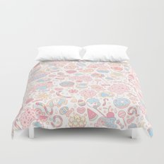 Dreamy Sweets Duvet Cover
