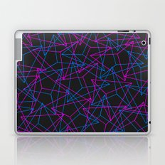 Abstract Geometric 3D Triangle Pattern in Blue / Pink Laptop & iPad Skin