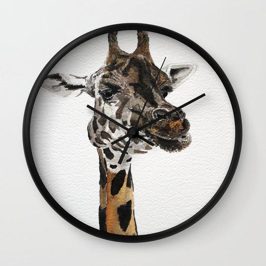 Giraffa camelopardalis Wall Clock
