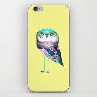 Owl Print iPhone & iPod Skin