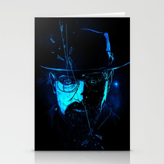 Mr. White (Crystal Blue) Stationery Card