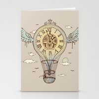 Time's Up Stationery Cards