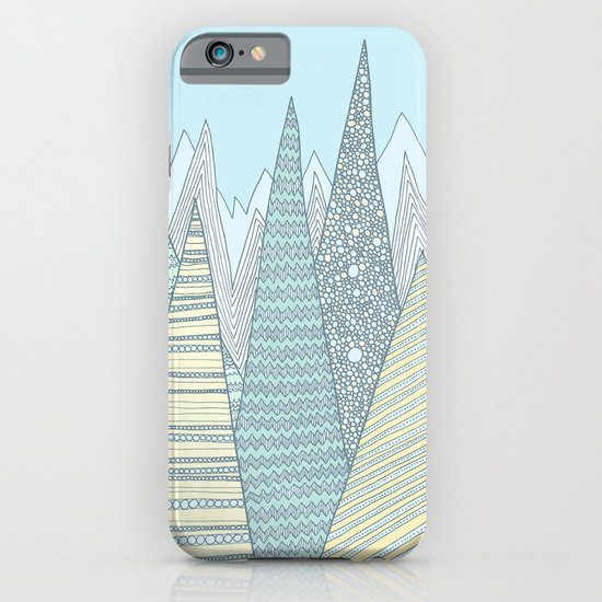 Summer Mountains iPhone & iPod Case