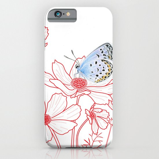 Cosmos and Butterfly iPhone & iPod Case