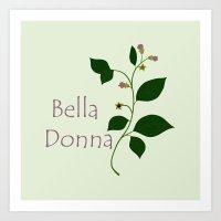 Bella Donna Art Print